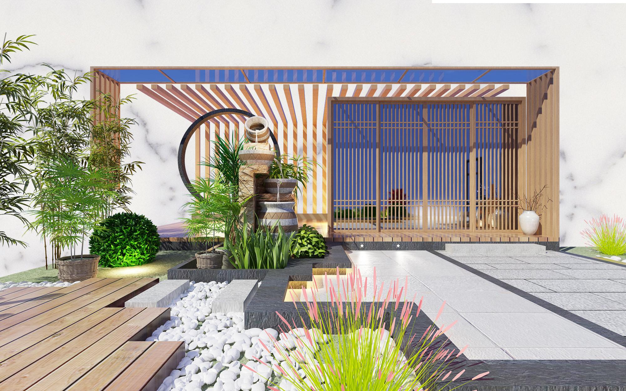 泸州青澜建筑装饰有限公司—庭院景观